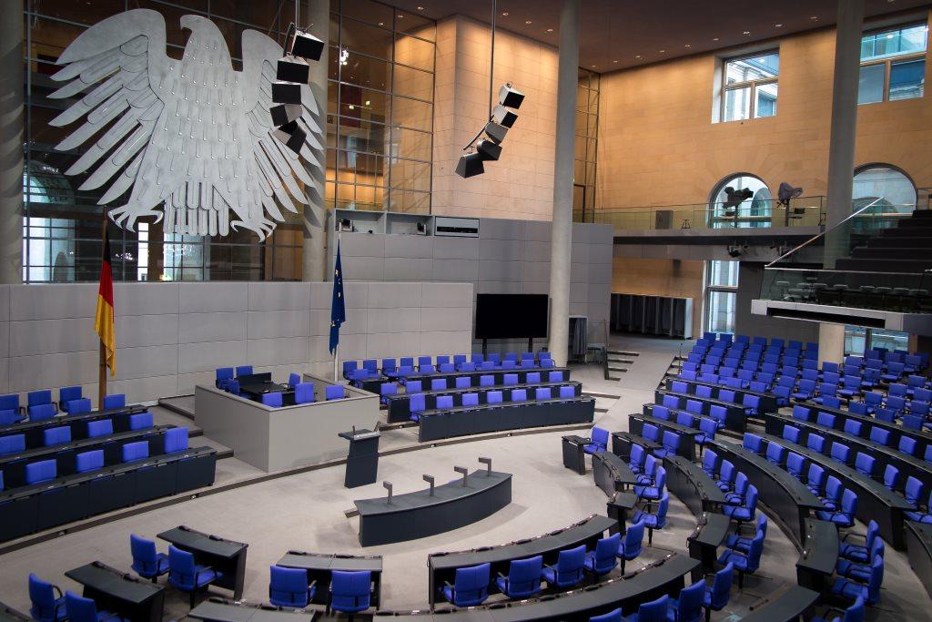 Politik erleben: Plenarsaal Bundestag